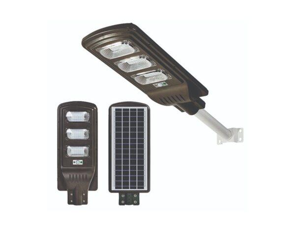 Уличен LED осветител, соларен - 90 W, 5000 K
