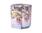 Ароматизирана свещ в украсена чаша, ø7.8 x 7.2 cm - Коледа