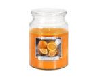 Ароматизирана свещ в бурканче, ø9.9 x 14 cm - портокал