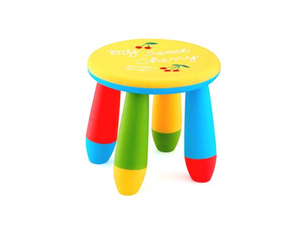 Детско столче - кръгло, 25 x ø27 cm