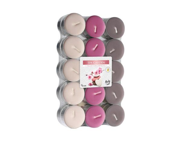 Ароматизирани чаени свещи, 30 бр. - спа градина