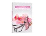 Ароматизирани чаени свещи, 6 бр. - ванилия/орхидея