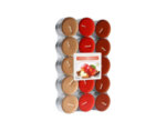 Ароматизирани чаени свещи, 30 бр. - ябълка и канела