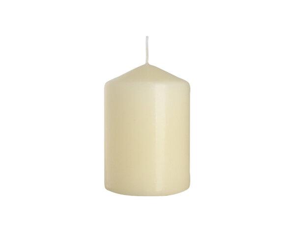 Неароматизирана свещ Pillar - ø7 x 10 cm, екрю
