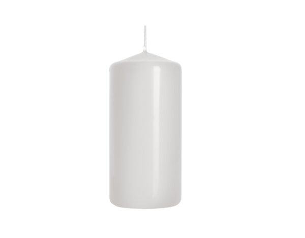 Неароматизирана свещ Pillar - ø5 x 10 cm, бяла