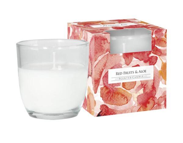 Ароматизирана свещ в чаша, ø7.6 x 7.6 cm - грейпфрут и алое