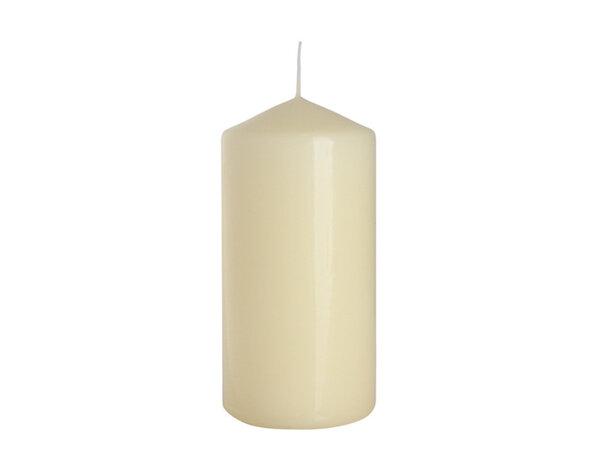 Неароматизирана свещ Pillar - ø6 x 12 cm, екрю
