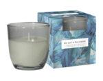 Ароматизирана свещ в чаша, ø7.6 x 7.6 cm - дафинов лист и къпина