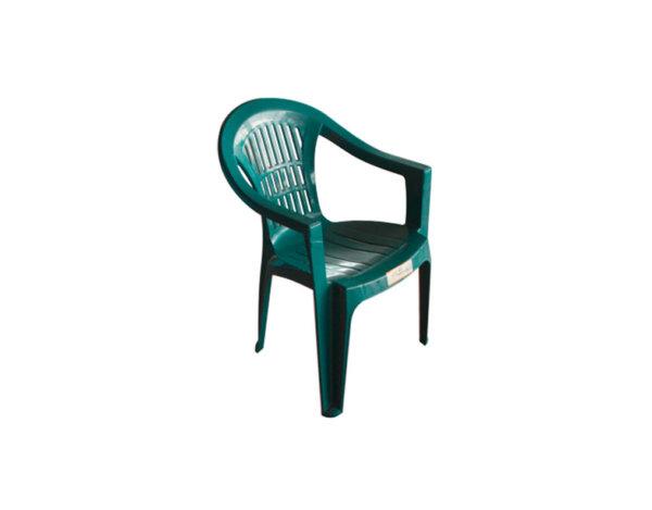 Градински стол - 78.5 х 57 х 55.5, различни цветове