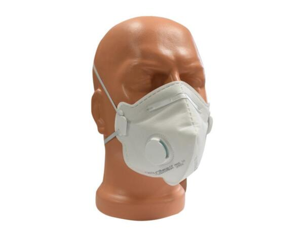 Респираторна маска FFP2 с клапа - сгъваема, GAIA P2V