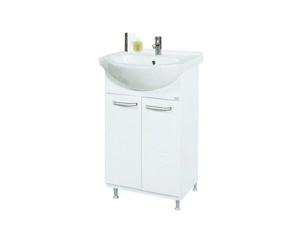 """Долен шкаф за баня с умивалник """"Нео"""" - 50 x 85 x 41 cm, PVC"""