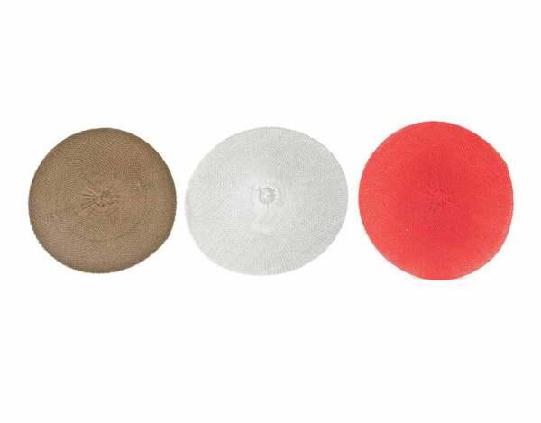 Кръгла подложка KY-23186, 38 cm - различни цветове