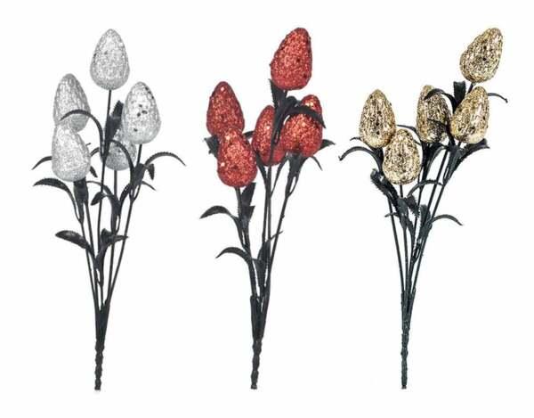 Коледно цвете KY-23632 - 32 сm, различни цветове