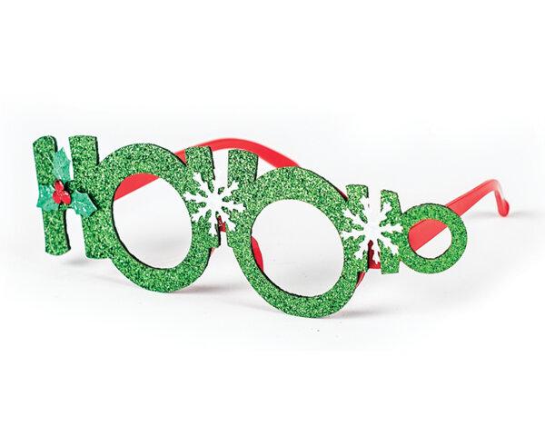Коледни очила KY-22986 - 19 x 7 cm