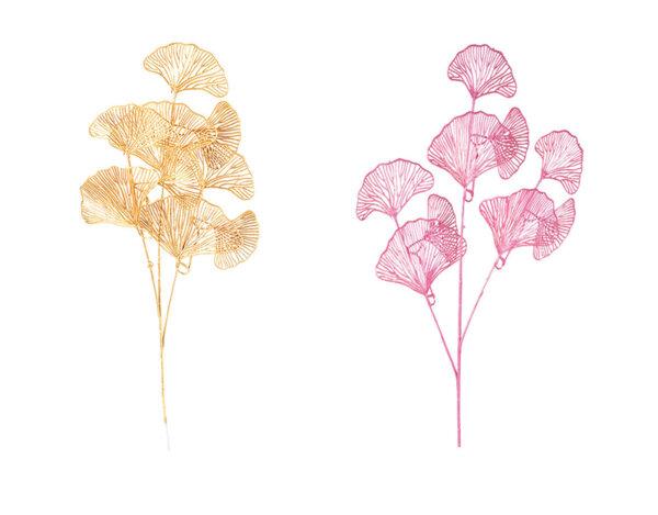 Коледно цвете KY-23695, 75 cm - различни цветове