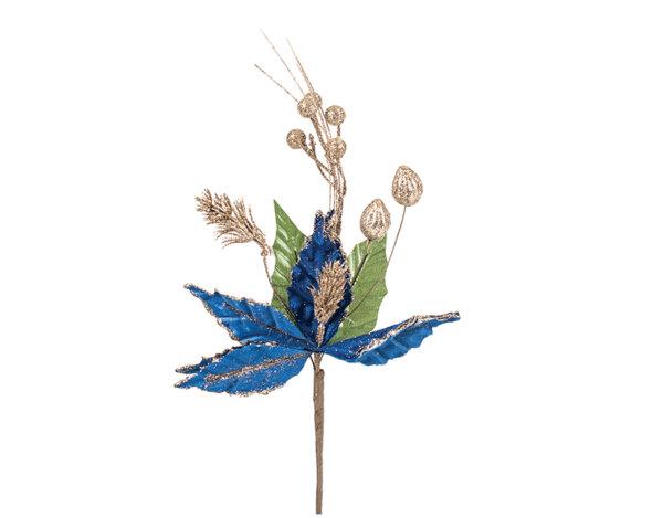 Коледно цвете KY-23451 - 40 x 10 cm
