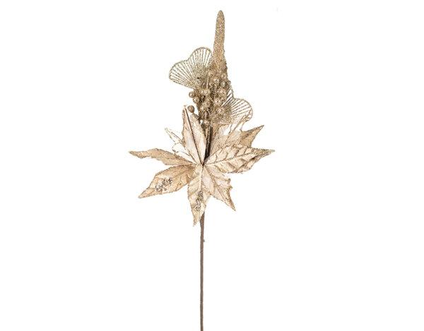 Коледно цвете KY-23756 - 65 cm