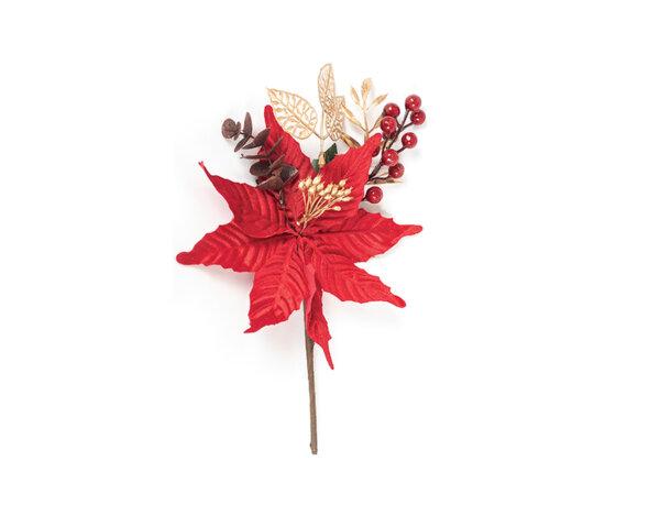 Коледно цвете KY-23456 - 22 x 31 cm