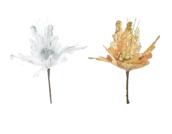 Коледно цвете KY-23546 - 38 cm, различни цветове