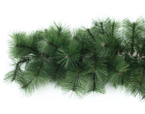 Коледен гирлянд KY-24287, 2.7 m - тъмнозелен