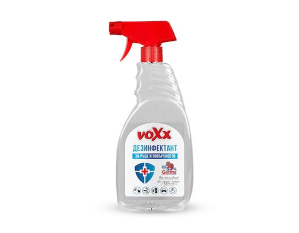 Дезинфектант за ръце и повърхности - 500 + 250 ml