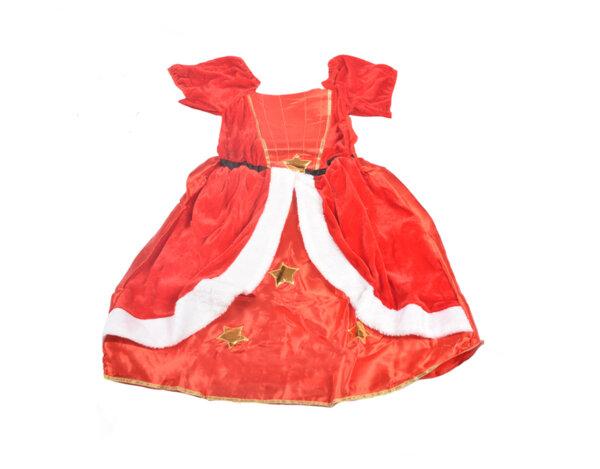 Детски коледен костюм - за момиче, 110 - 116 cm