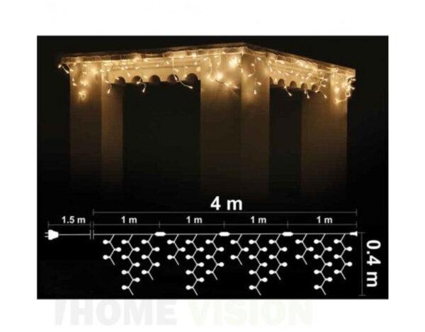 Светещ гирлянд Rice B, бял, 4 m - 120 RICE лампички