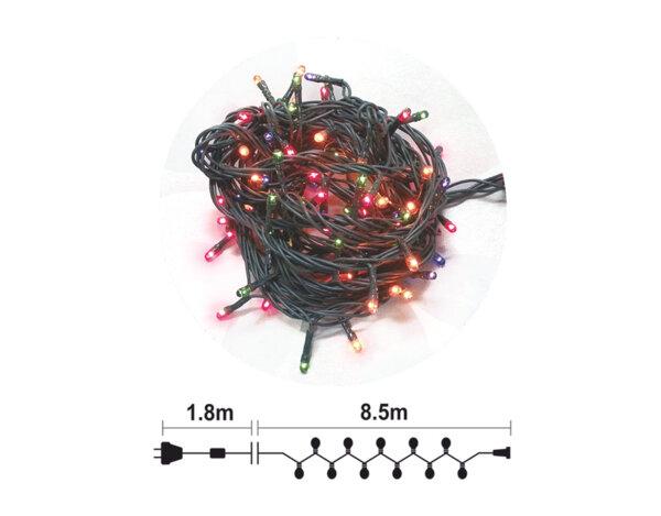 Гирлянд от 200 RICE лампички - 8 режима на светене, 8.5 m