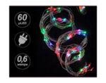 """Светеща каскада """"Купър"""", RGB, 0.6 m - 60 LED лампички"""