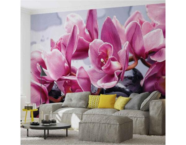 """Фототапет """"Орхидеи релакс 3D"""" - 184 x 254 cm"""