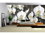 "Фототапет ""Орхидея бяло 2 XL"" - 254 x 368 cm"