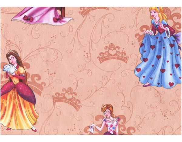 "Тапет хартиен ""Принцеси"" - 043-03, бежов"