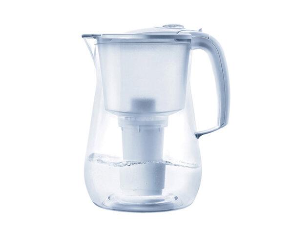 """Филтрираща кана за вода """"Прованс"""" - 4.2 l, бяла"""