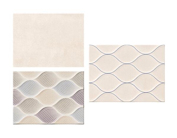 Фаянс Isolda - 25 х 33 cm, различни цветове