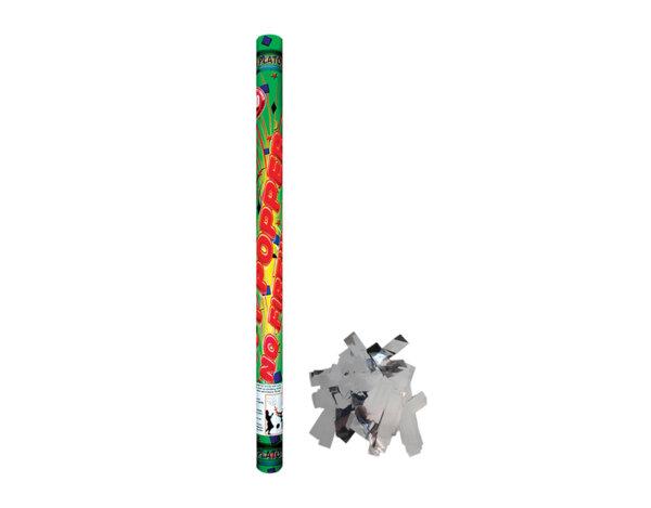 Парти конфета - сребърни ленти, ø50 x 30 cm