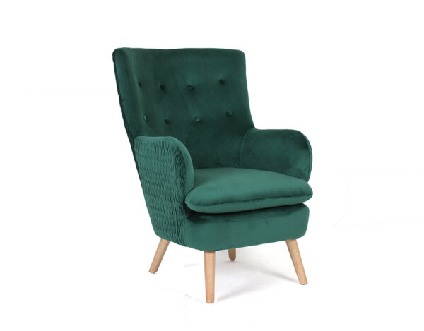 Фотьойл/кресло Preston - зелен