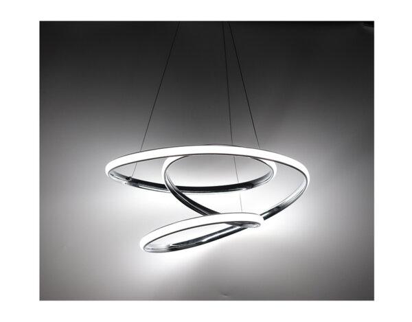 LED пендел, хром – 39 W, 4000 K, 2730 lm