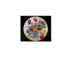 Парти чинийка с надпис Happy Bithday - опаковка от 10 бр.