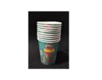 Парти чашки с надпис Happy Bithday - опаковка от 10 бр.