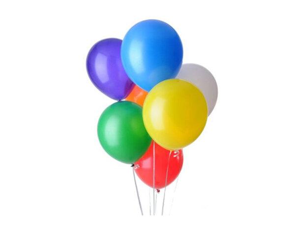 Балони пастел, 25 cm - микс цветове, 20 бр.