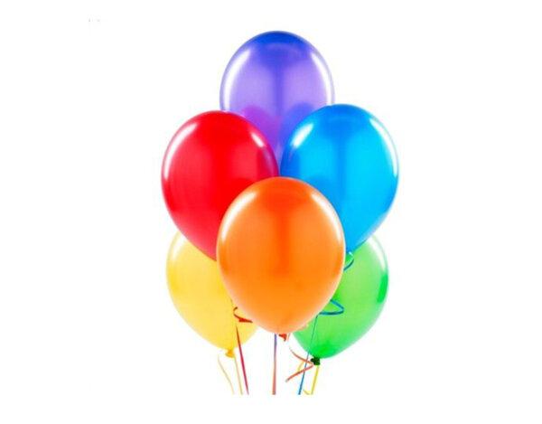 Балони металик, 25 cm - микс цветове, 10 бр.