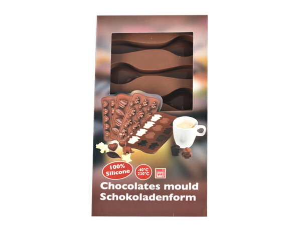 Силиконови формички за шоколадови бонбони