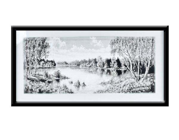 """Картина """"Лято на село"""" - 43 х 83 cm"""