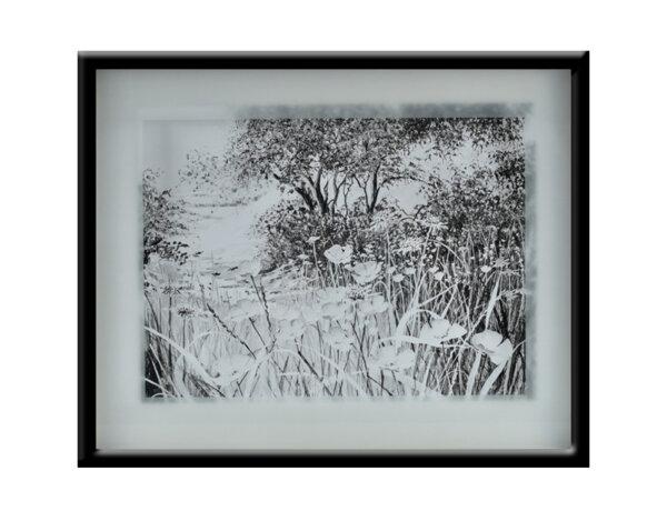 """Картина """"Пътеката с маковете"""" - 41 х 51 cm"""