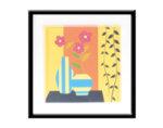 "Картина ""Цветен ден"" - 53 х 53 cm"