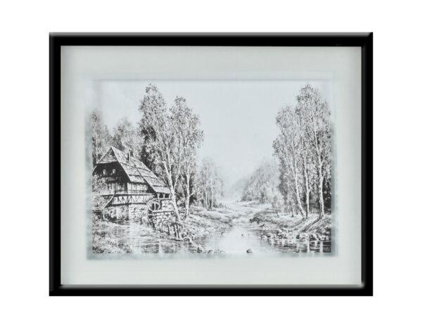 """Картина """"Времето е спряло"""" - 41 х 51 cm"""