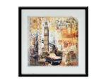 """Картина """"Прекрасният Лондон"""" - 53 х 53 cm"""