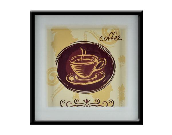 """Картина """"Ароматно кафе"""" - 53 х 53 cm"""