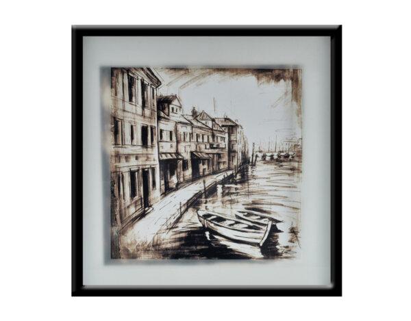 """Картина """"Венецианска есен"""" - 53 x 53 cm"""