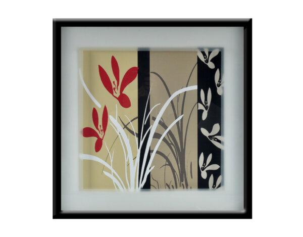 "Картина ""Есенни цветя"" - 53 x 53 cm"